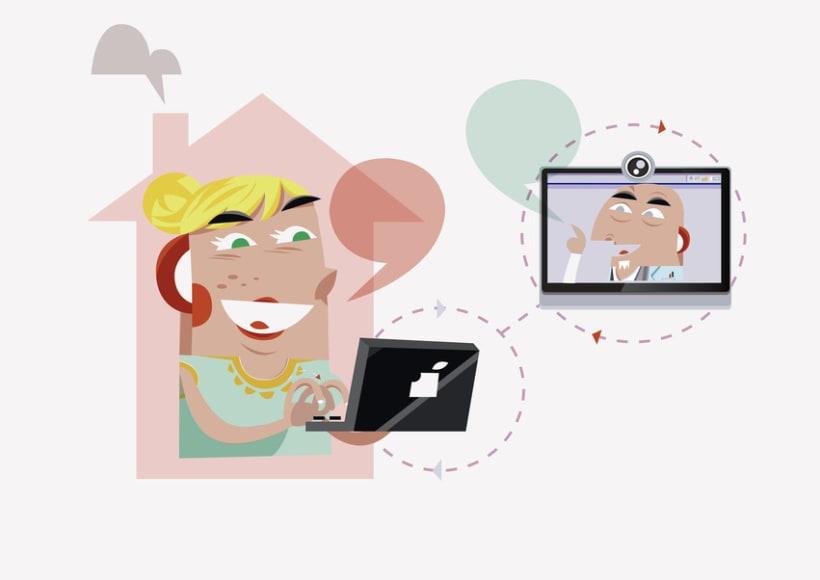 Ilustraciones para Qualia Connect 6
