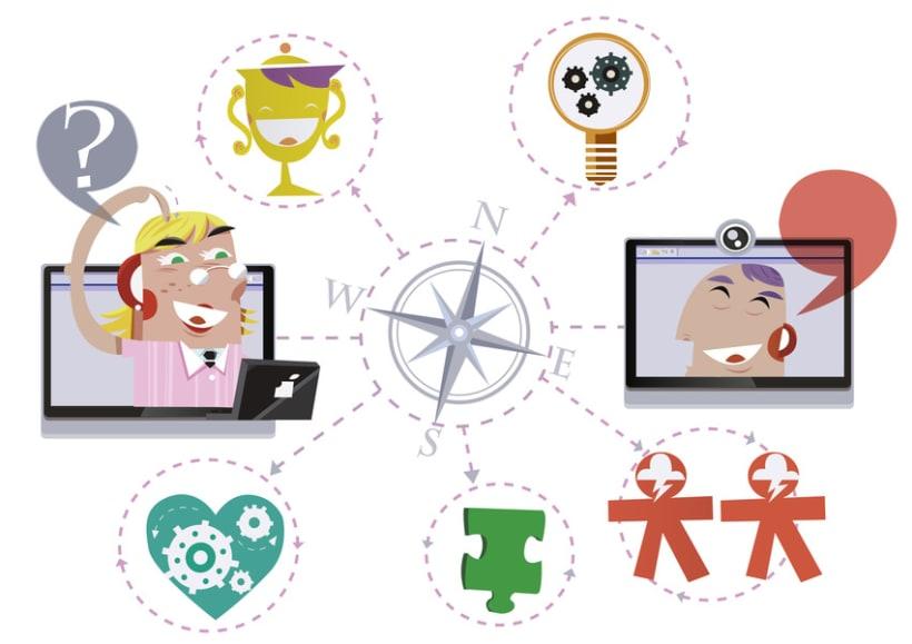 Ilustraciones para Qualia Connect 5