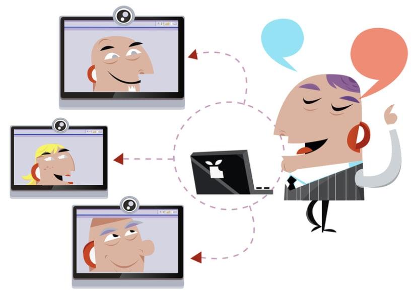 Ilustraciones para Qualia Connect 2