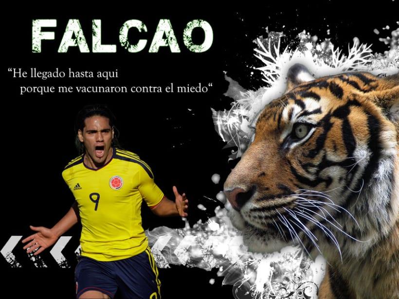Poster Falcao 2