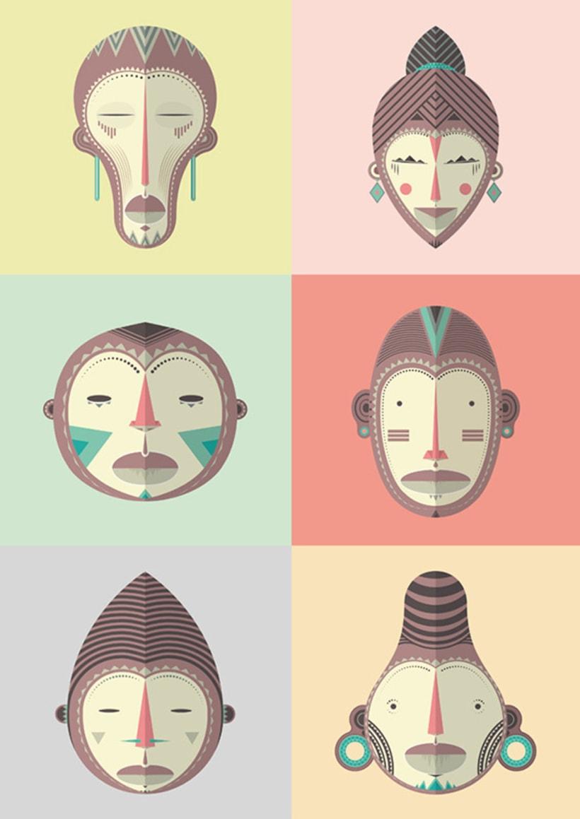 Máscaras africanas 8