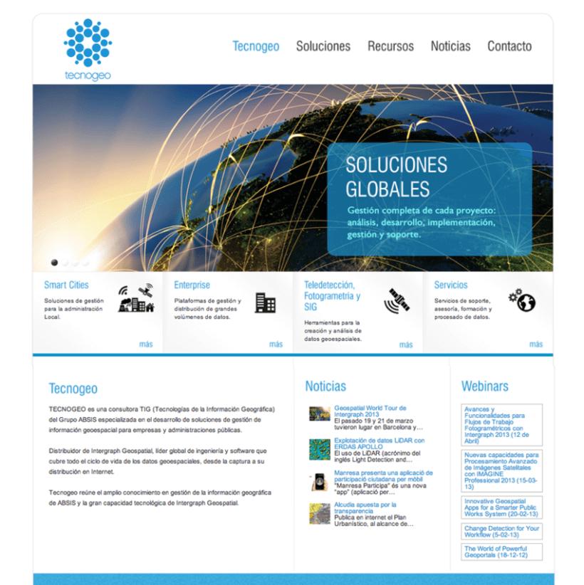 Web Design Tecnogeo 1