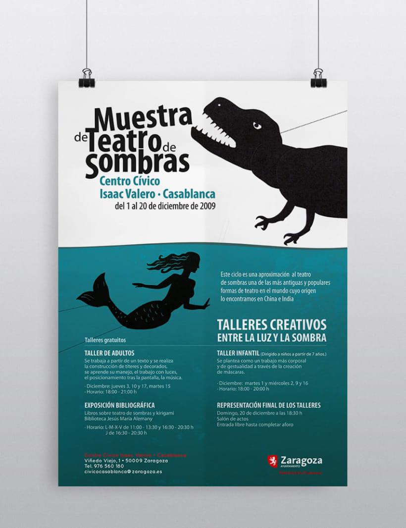 Cartel Muestra de Teatro de Sombras 1
