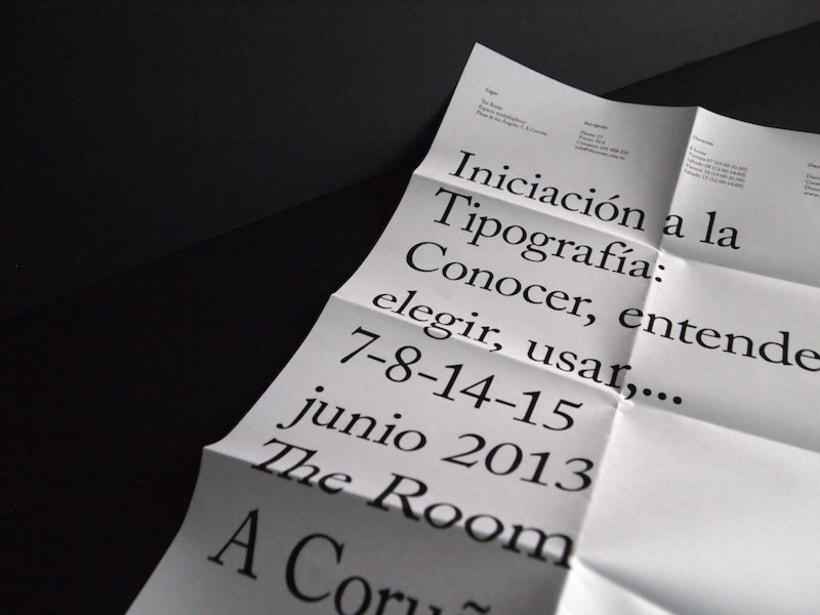 Cartel curso de tipografía 9