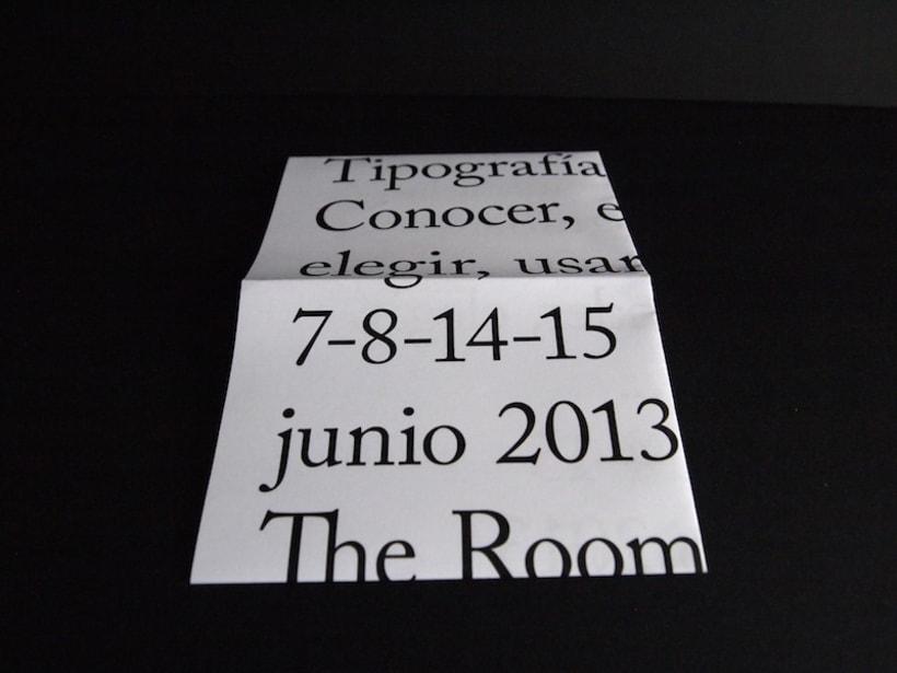 Cartel curso de tipografía 6