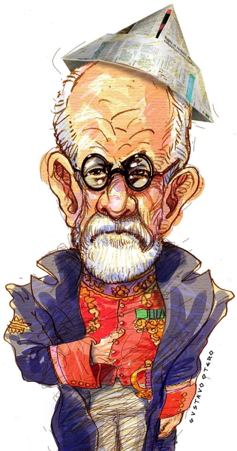 Ilustraciones Gustavo Otero revista Interviú 8