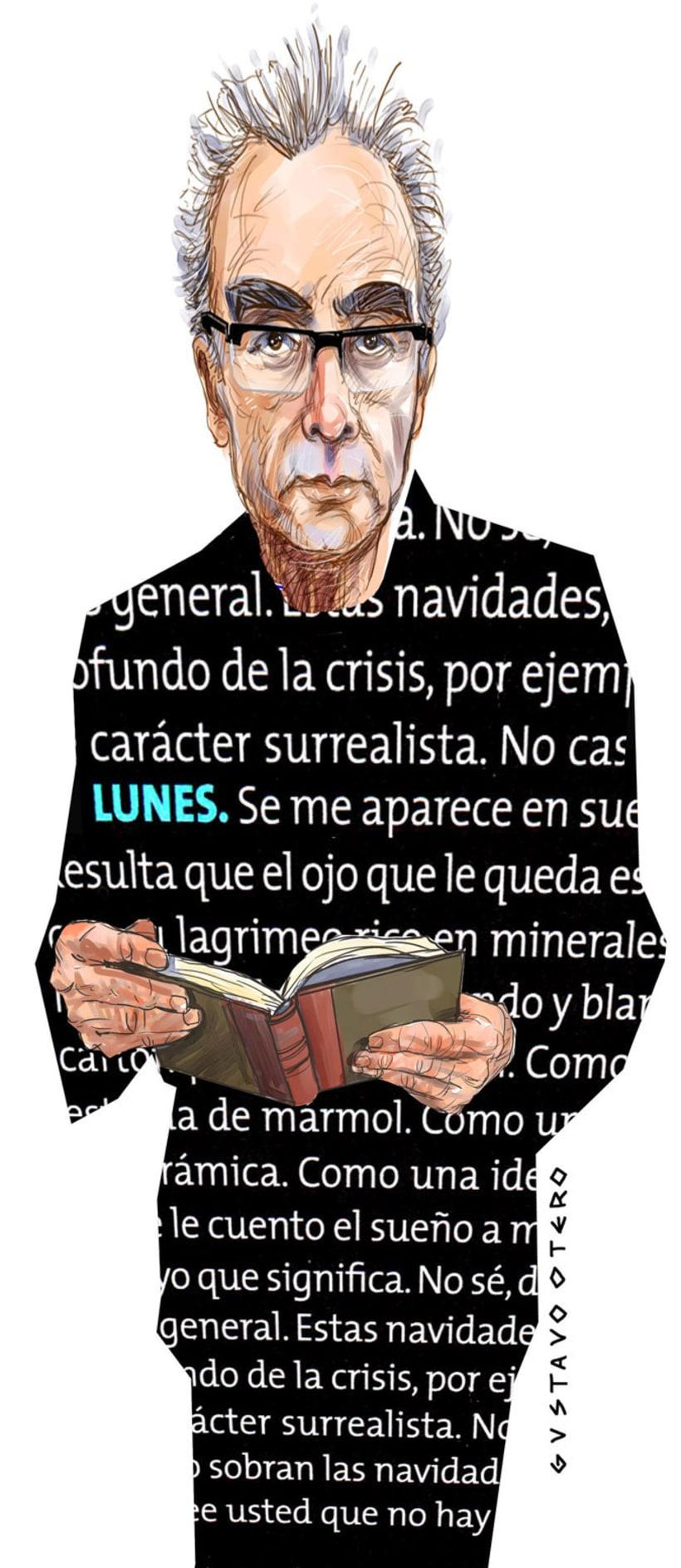 Ilustraciones Gustavo Otero revista Interviú 5