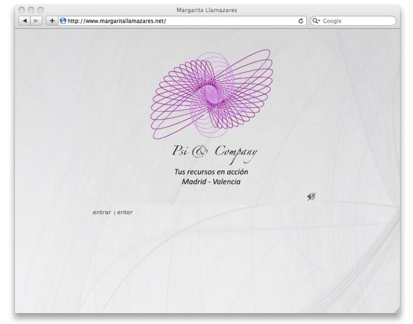 Creación y diseño de branding, identidad corporativa y página web, para profesional de la Psicoterapia. 2