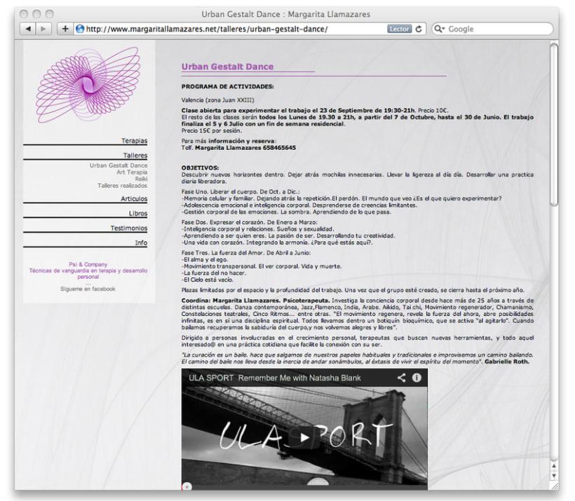 Creación y diseño de branding, identidad corporativa y página web, para profesional de la Psicoterapia. 6