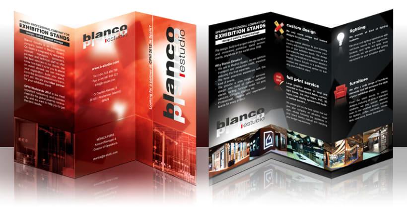 Brochure / Tríptico 1