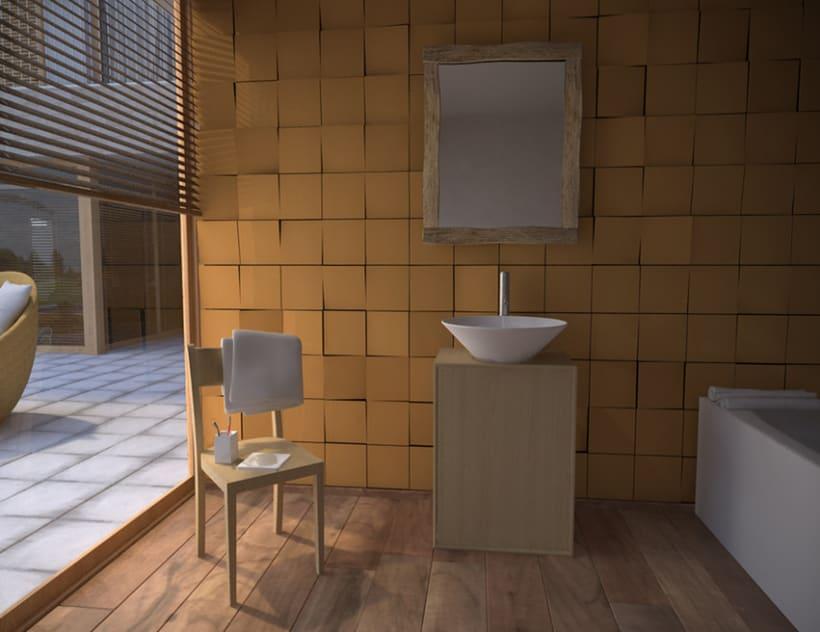 Casa Payet Baño 3D 1