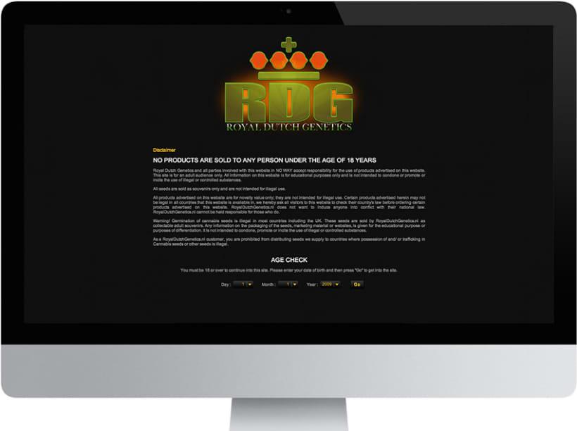 Página Web | RoyalDutchGenetics.nl 2