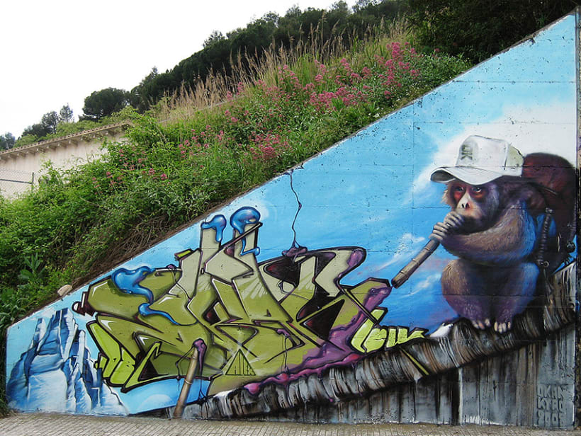 Graffiti | O.K. Monkey 2