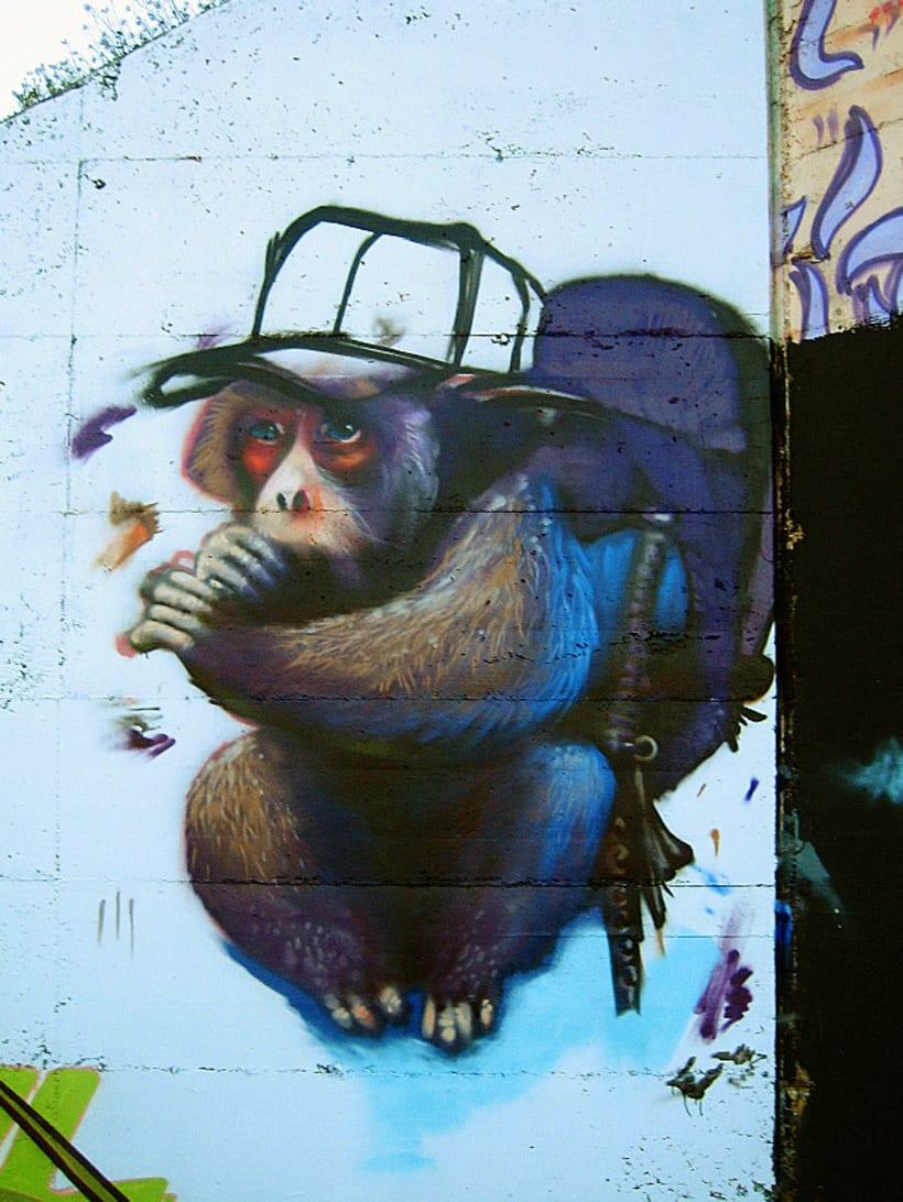 Graffiti | O.K. Monkey 6