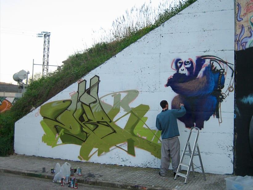 Graffiti | O.K. Monkey 4