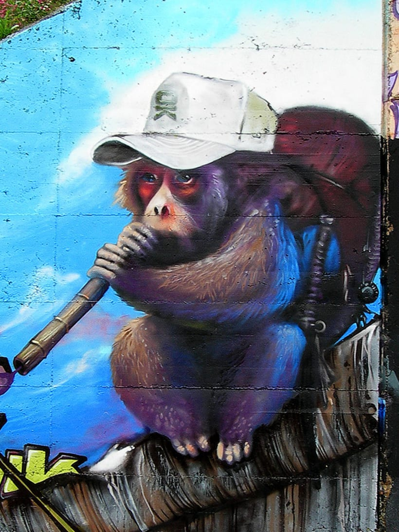 Graffiti | O.K. Monkey 7