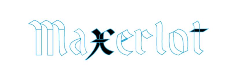 MAXERLOT lettering 3