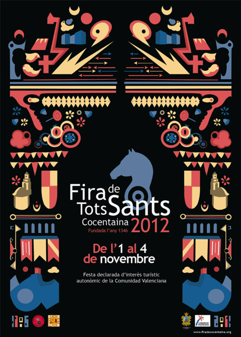 Poster: Fira Cocentaina 2012 1