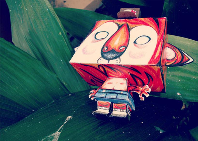 Paper Toys - Tiger 1