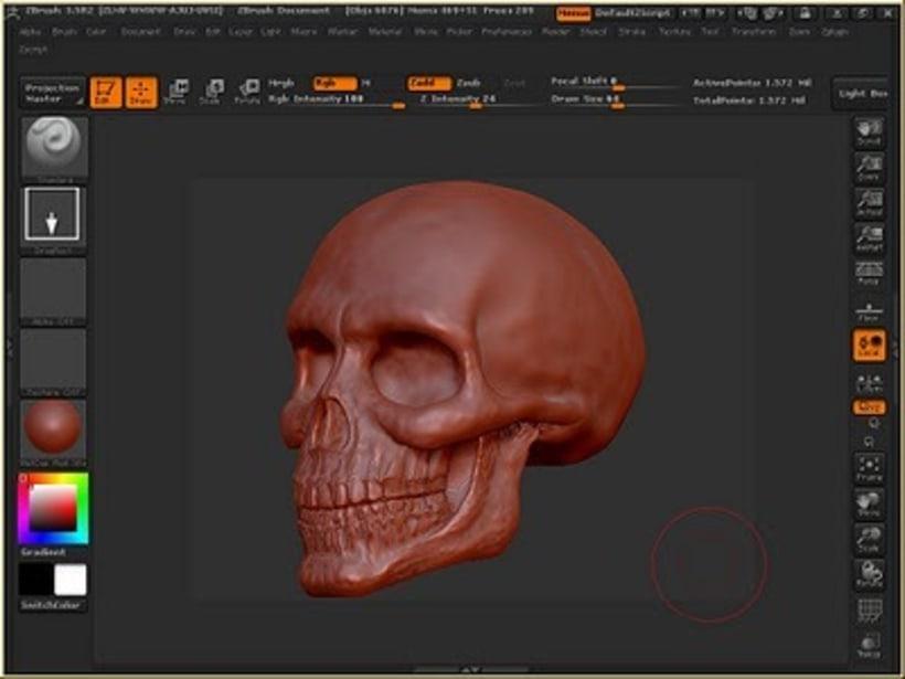 Modelado orgánico 3D 5