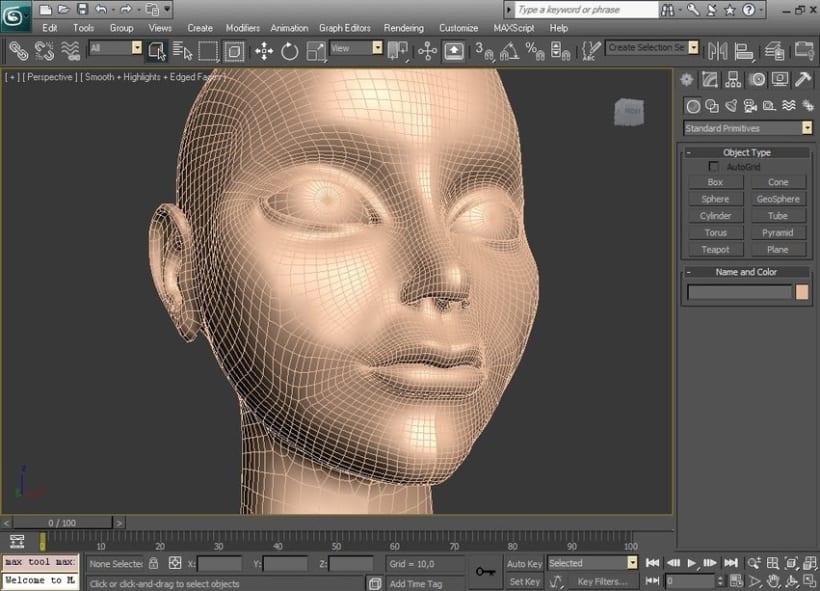 Modelado orgánico 3D 4