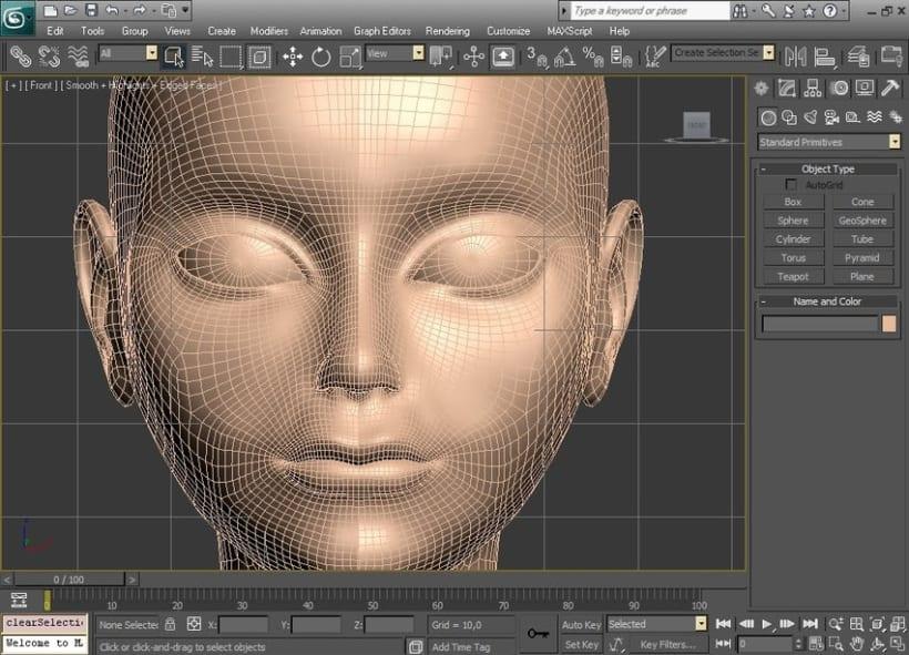 Modelado orgánico 3D 3