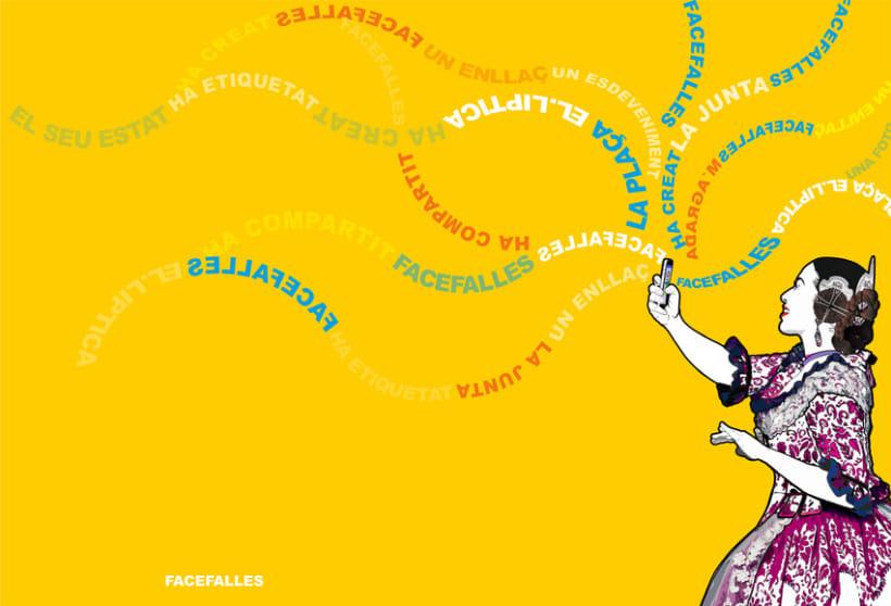 Ilustración para llibret Falla El.liptica 2