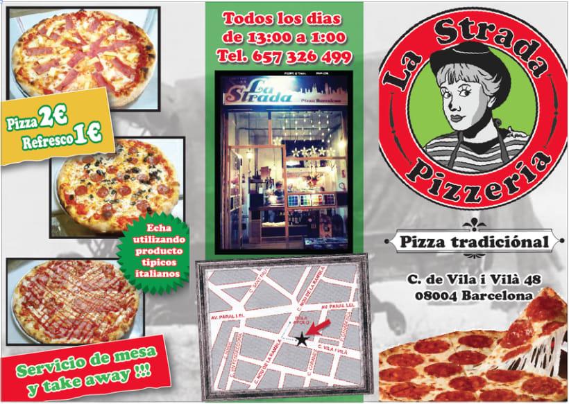La Strada, pizzeria 1