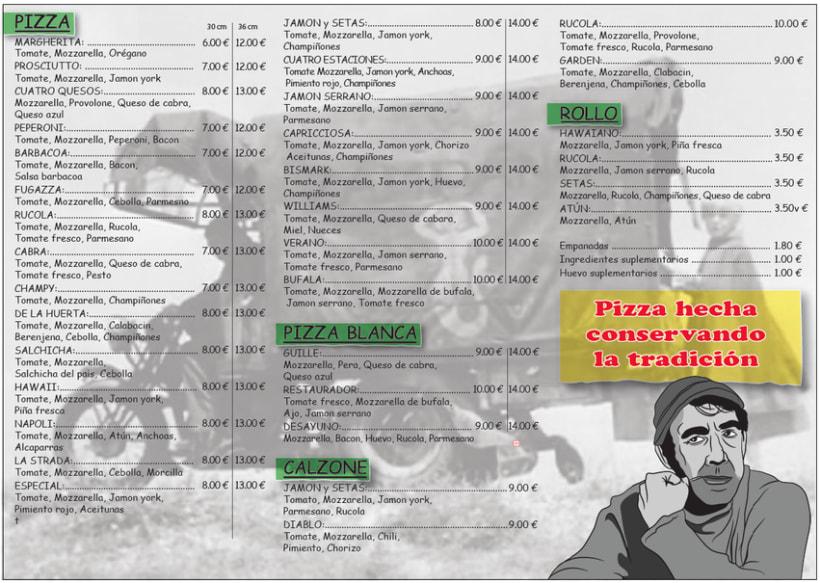 La Strada, pizzeria 2