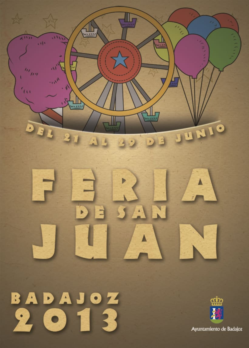 Cartel Feria San Juan 2013 2