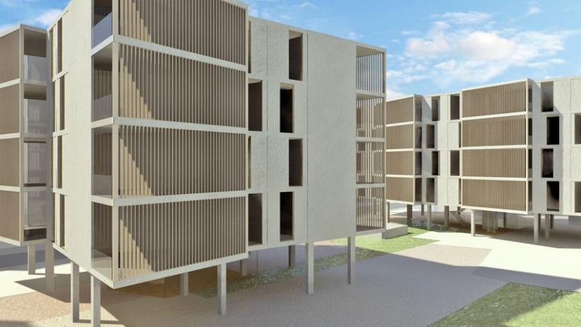 Colaboración en concursos de arquitectura con Fermak Arquitectos 1