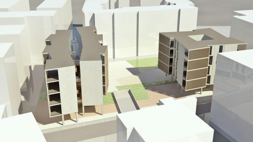 Colaboración en concursos de arquitectura con Fermak Arquitectos 2