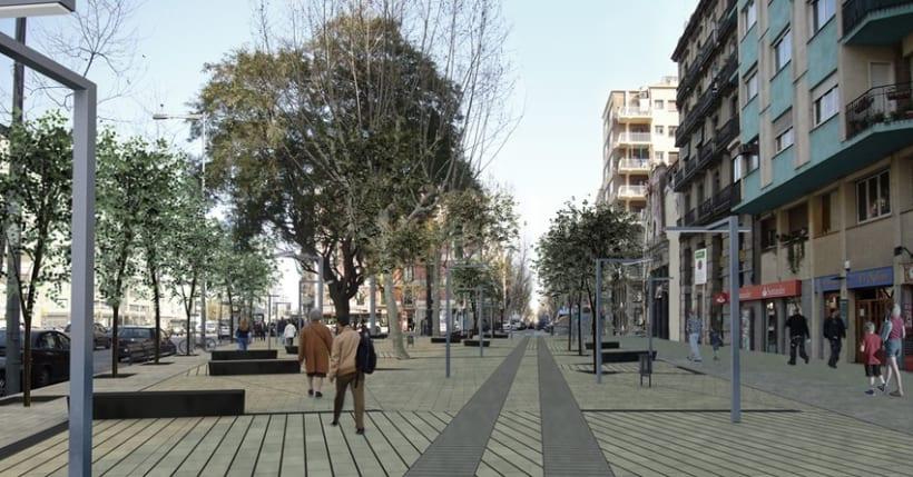 Proyecto urbanización del barrio de Poble Sec en Barcelona 1