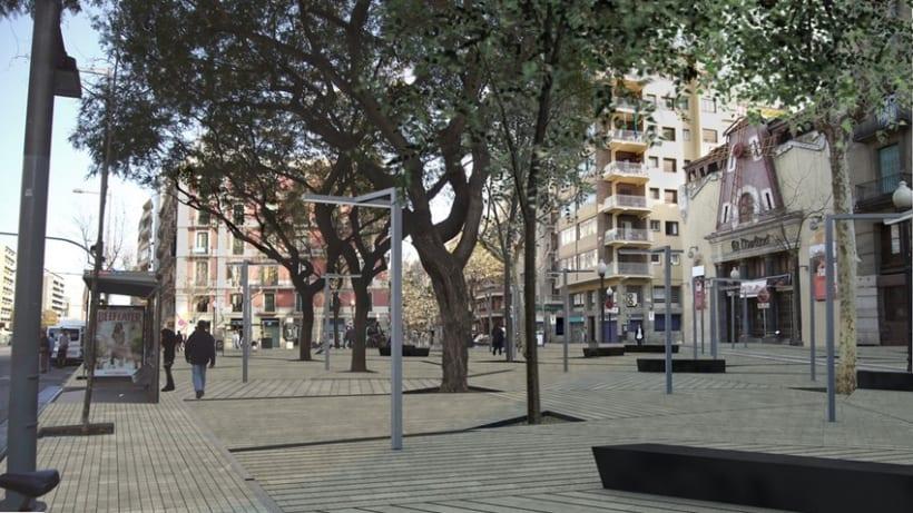 Proyecto urbanización del barrio de Poble Sec en Barcelona 2