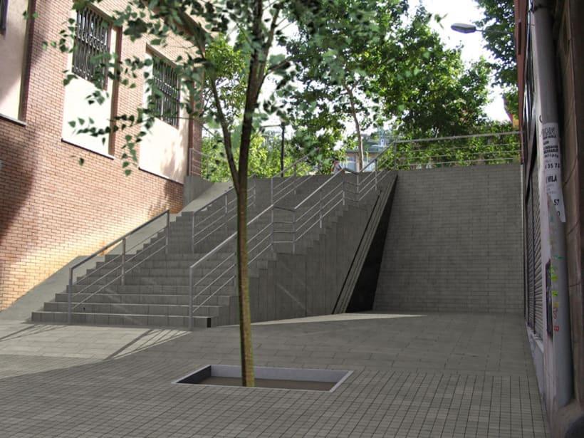 Proyecto urbanización del barrio de Poble Sec en Barcelona 3