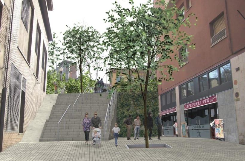 Proyecto urbanización del barrio de Poble Sec en Barcelona 4