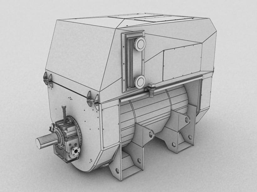 Realización de maquinaria en 3D para vídeo de promoción 2