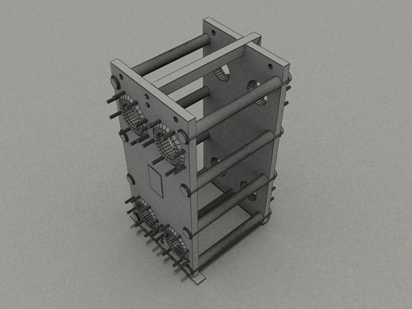 Realización de maquinaria en 3D para vídeo de promoción 5