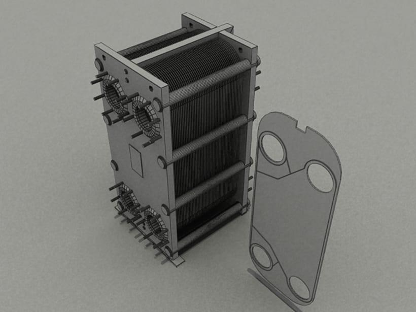 Realización de maquinaria en 3D para vídeo de promoción 6