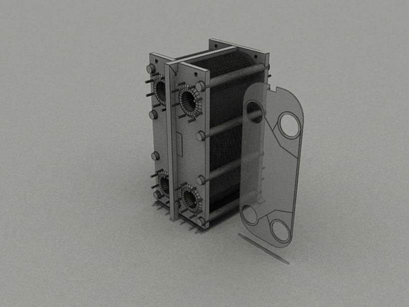 Realización de maquinaria en 3D para vídeo de promoción 8
