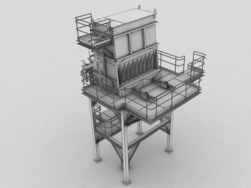 Realización de maquinaria en 3D para vídeo de promoción 9
