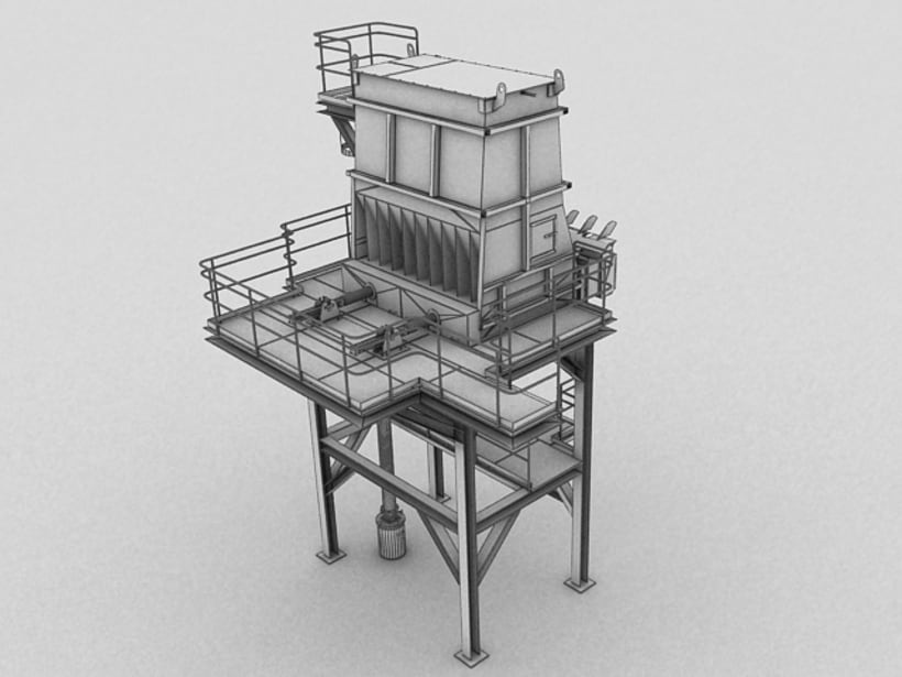 Realización de maquinaria en 3D para vídeo de promoción 10