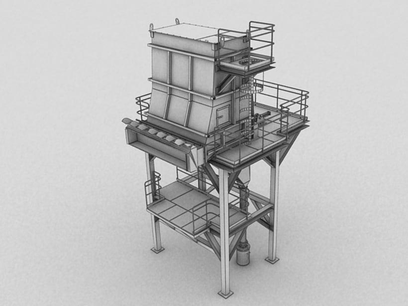 Realización de maquinaria en 3D para vídeo de promoción 11