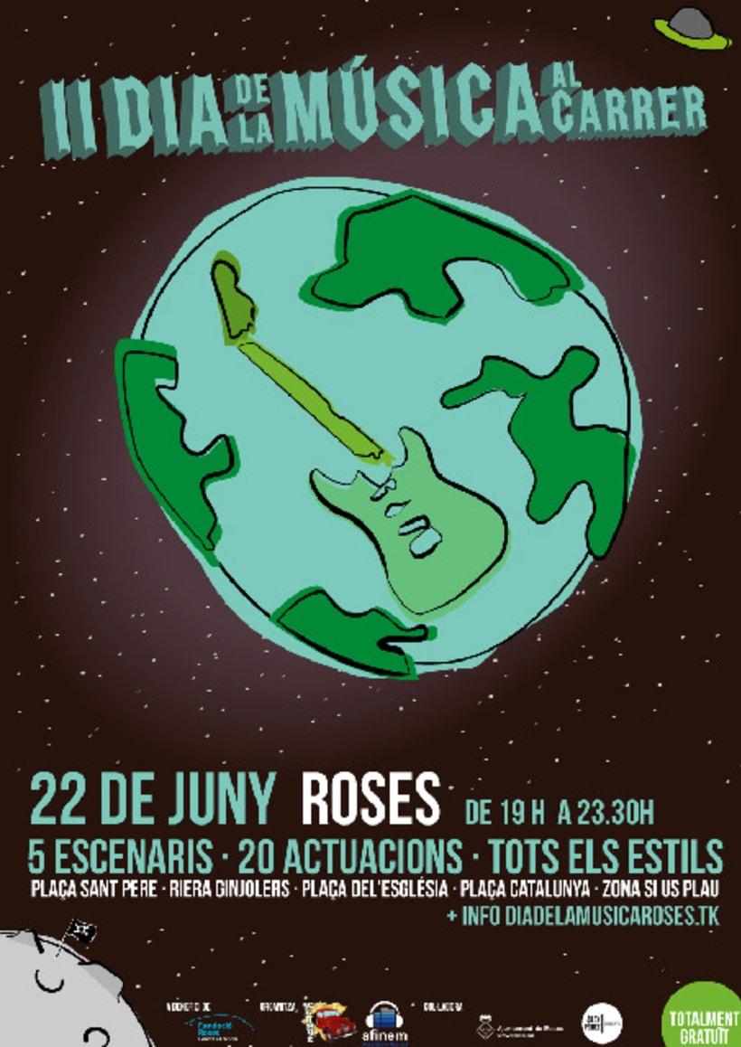 II Dia de la Música al carrer de Roses 1