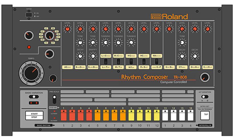 Roland TR-808 1