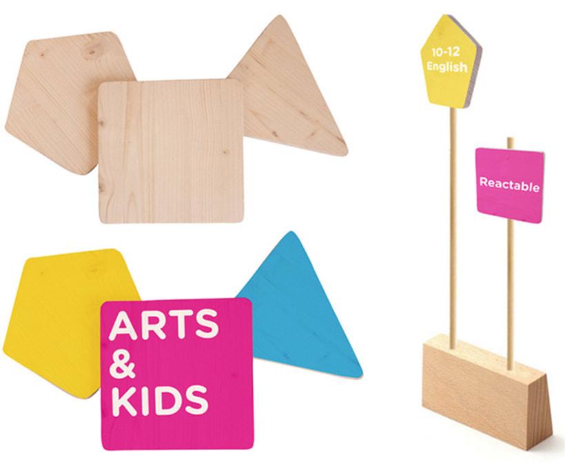 Señalización Arts & Kids 2