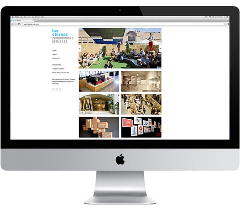 Las Eternas website 3