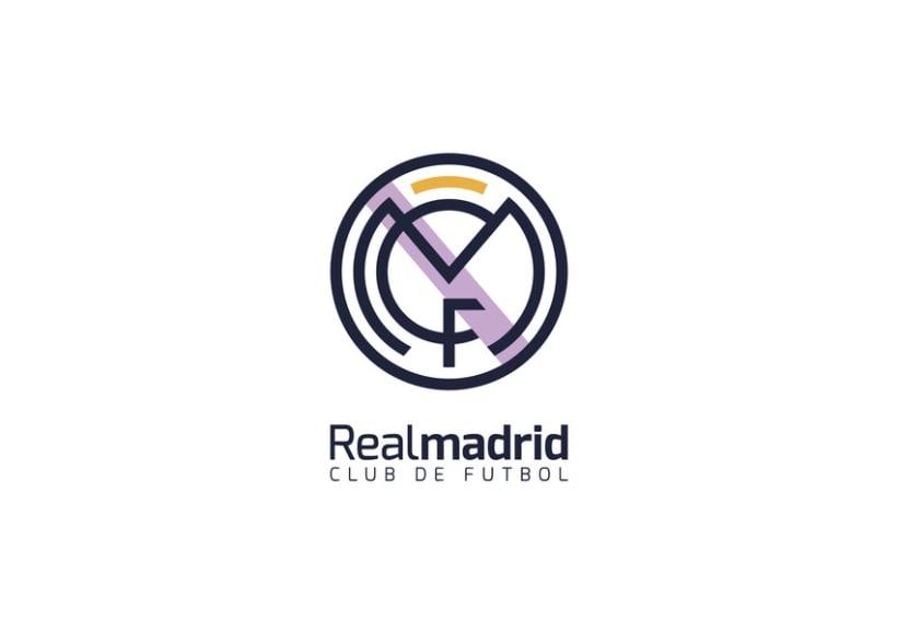 Real Madrid CF Redesign 3
