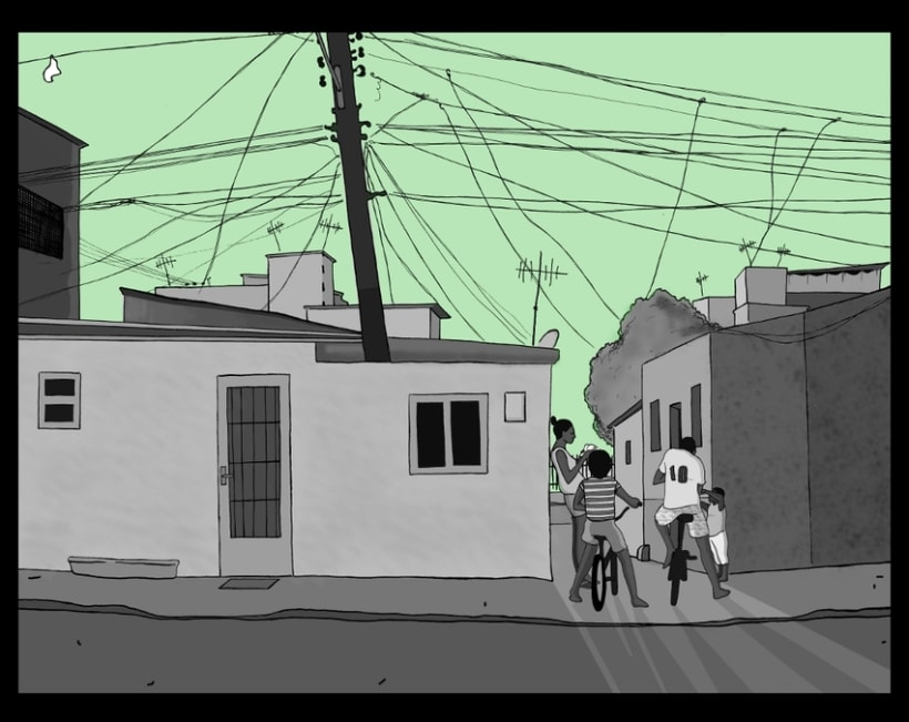 Cidade de Deus (Blanco y negro) 2