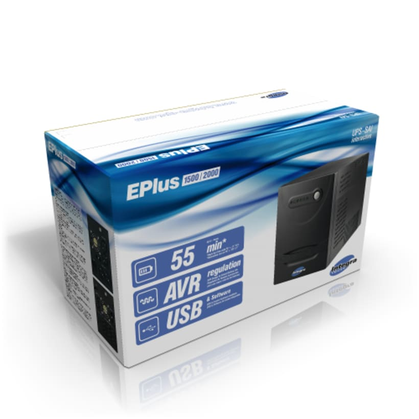 Empaque UPS E-plus 2